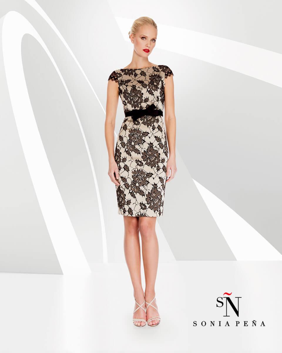 kratka_elegantna_svecana_vecerna_obleka_s_cipko