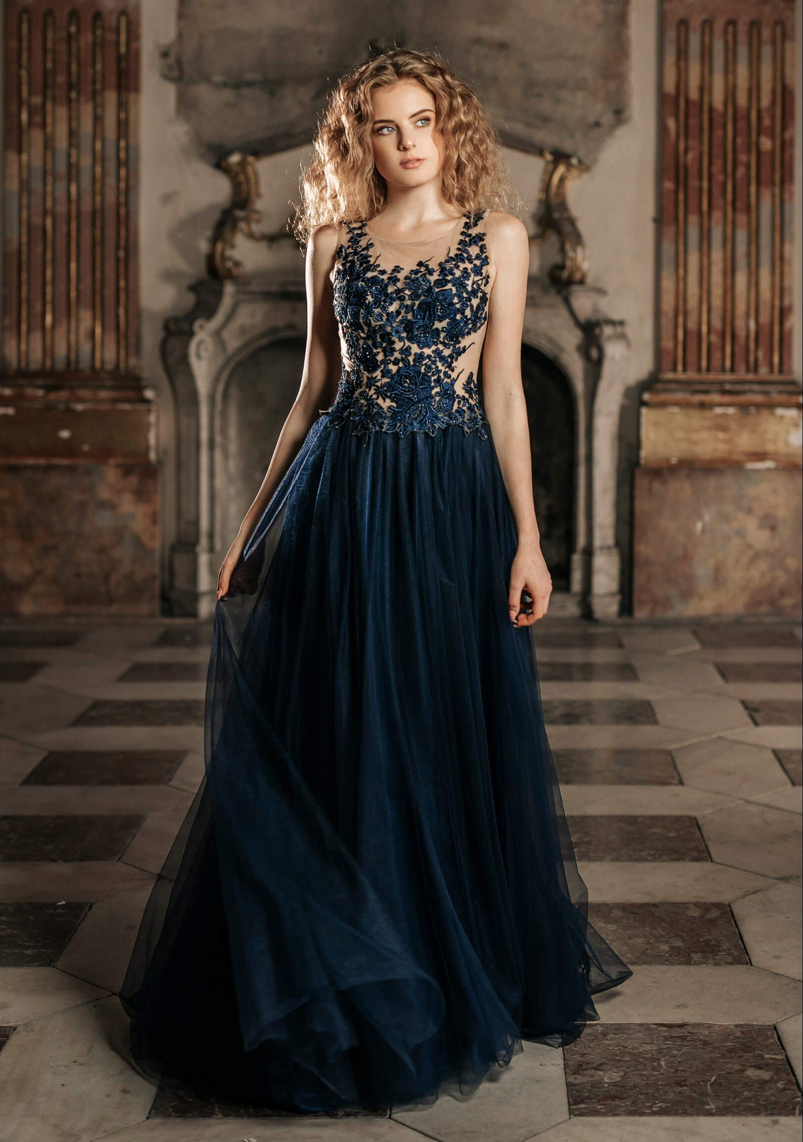 dolga_bogata_princes_svecana_maturantska_obleka_s_cipko