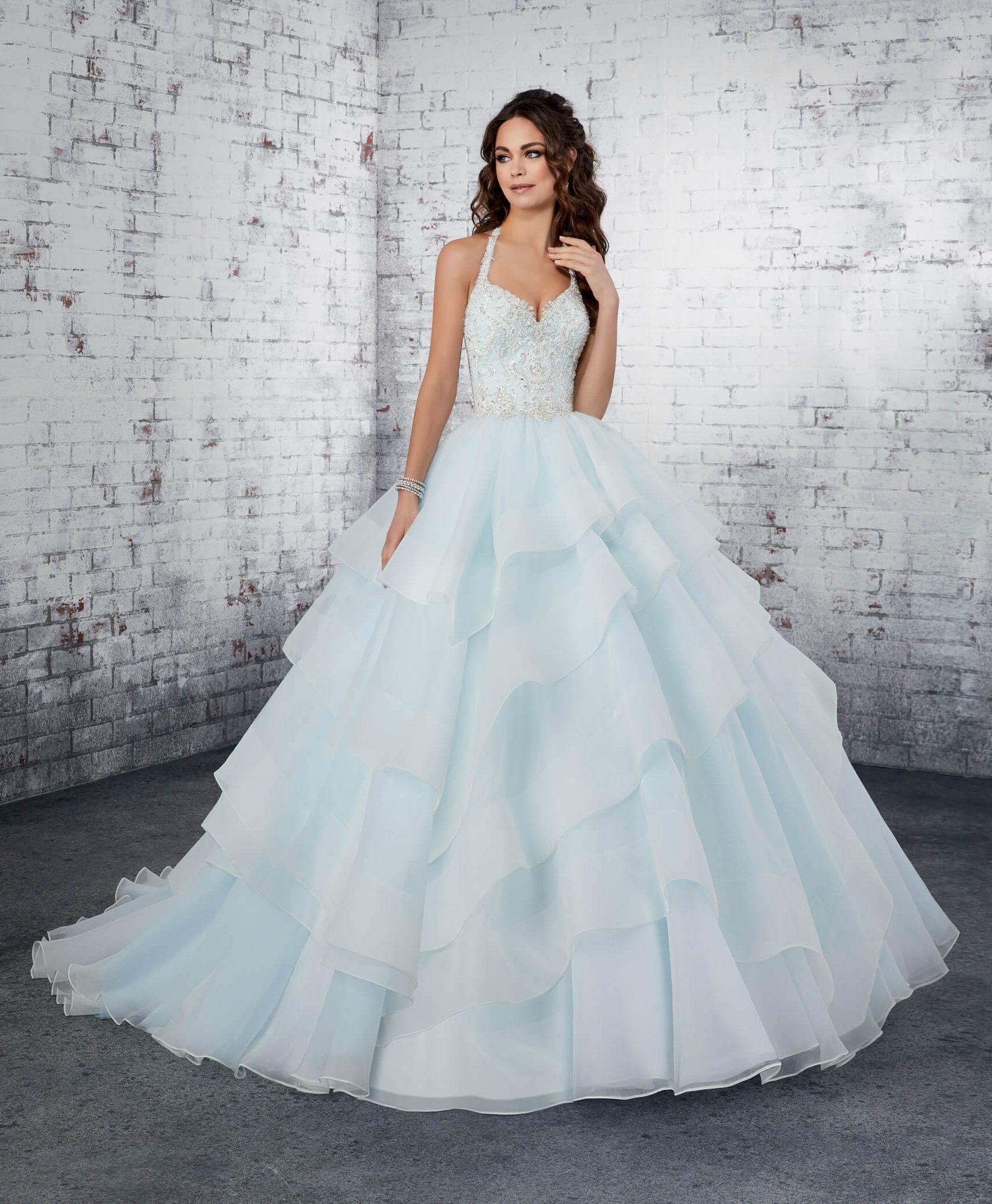 princes_poročne_obleke_z volančki_in_kristali